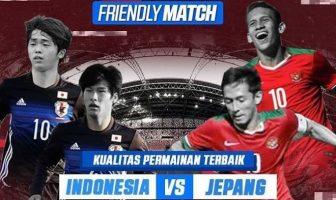 timnas-u 19 indonesia vs jepang