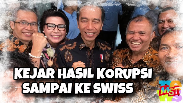 Indonesia Gandeng Swiss Kejar Uang Hasil Korupsi