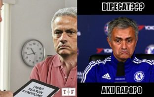 jose mourinho dipecat dari manchester