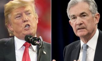Jerome Powell and Trump