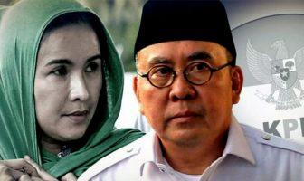 Gubernur-Bengkulu-nonaktif-Ridwan-Mukti-dan-istrinya,-Lily-Martianii