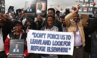 Protes migran Afrika di Israel