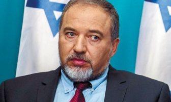 menteri pertahanan israel-avigdor lieberman