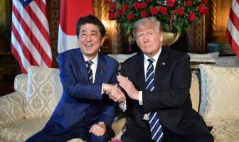 Trump dan PM Abe