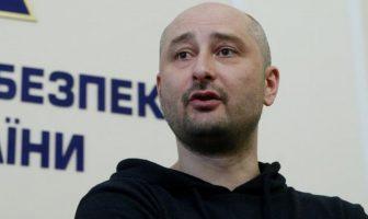 Wartawan anti-Kremlin Arkady Babchenko