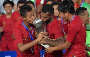 Momen Indonesia Ukir Sejarah Juarai Piala AFF U-22 Usai Bekuk Thailand