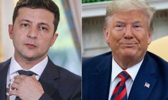 trump dan presiden ukraina