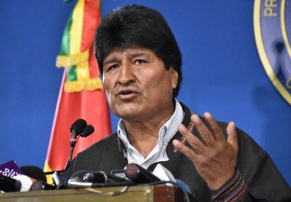 Eks Presiden Bolivia Evo Morales