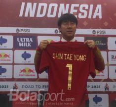 Shin Tae Yong Belum Datang ke Indonesia