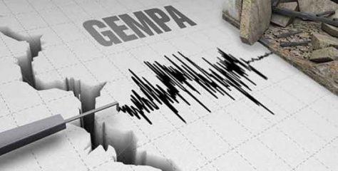 Gempa M 5,5 Guncang Melonguane, Sulut